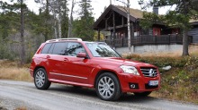 "Mercedes GLK 220 CDI: Klart for ""folke-Mercedes"""