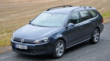 Test av VW Golf stasjonsvogn