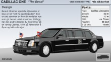 Obamas limousin er et monster