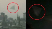  Pyramide-formet UFO over Moskva