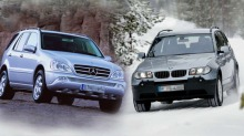 Hvilken SUV skal jeg velge - Mercedes eller BMW?