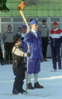 SKISPORTENS VUGGE: Og stedet OL-ilden ble tent i 1994.