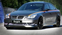 Verdens raskeste sedan: BMW M5 Hurricane RR