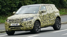 Se spionbildene: Range Rover Evoque