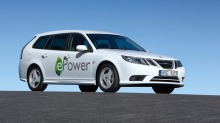 Saab 9-3 elbil har virkelig power under panseret