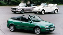 VW Golf cabriolet gjr comeback