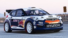 Hyundai Veloster: Klar for rally