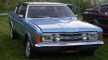 BILEN MIN: Lindas Ford Taunus GXL coup 1971