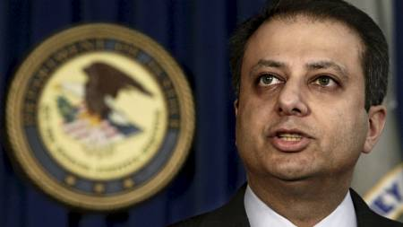 JAKTER MILLIARDER: Preet Bharara jakter milliarder av kroner den mener er ulovlig innhentet av pokerselskaper i USA.