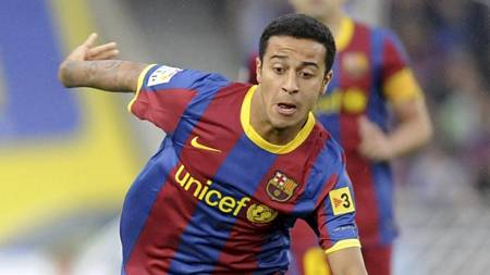 FLGES: Manchester United skal vre interessert i Barcelonas Thiago Alcantara.