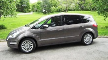 Ford S-Max 1,6 TDCI: Sparebøsse for storfamilien