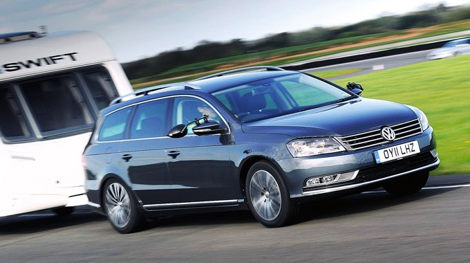 VW Passat gikk helt til topps i Towcar Awards 2011.