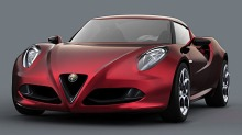 Alfa Romeo 4C: 850 kg + 300 hk = Rskinn!