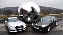 Duell: Audi A6 vs BMW 520