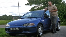 Ole Martins 1992 Honda Civic skal se helt original ut
