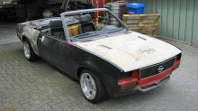 Opel Ascona V8 cabriolet: Denne drmmebilen er 20 r forsinket