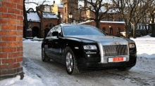Rolls Royce Ghost: