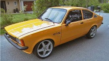 Opel Kadett C: 400 hester gjr den til en rakett
