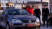 Vi skrudde p kilometerne og tjente 30.000 kr