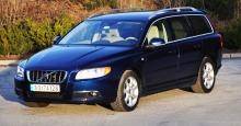 TEST: Volvo V70 D3 Ocean Race: Bilen som skiller gutter fra menn