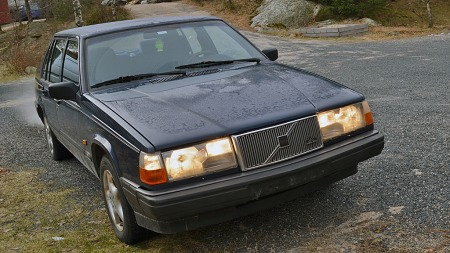 Volvo 940: Med denne drmmer Julia om  bli god i drifting