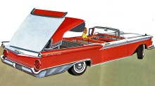 Ford Galaxie Skyliner: Virkelig forut for sin tid