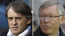Mancini:  Manchester United er favoritter