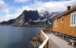 Reine i Lofoten 23. mai.