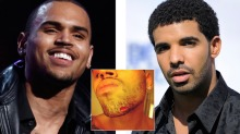 Chris Brown og Drake sloss om Rihanna