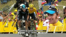 Froome og Wiggins med maktdemonstrasjon p siste fjelletappe