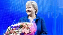 Erna Solberg er rets brobygger