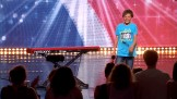 David (10) fikk stende applaus i Norske Talenter