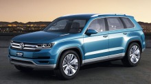 VW CrossBlue Concept: De planlegger rimelig SUV