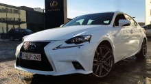 Lexus IS300h: Her er den i Norge - en uke fr Europa-premieren