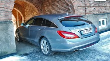 Test Mercedes CLS Shooting Brake: Ufornuftig  men herlig