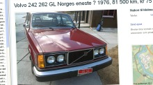 Volvo 262 GL: Denne er virkelig sjelden