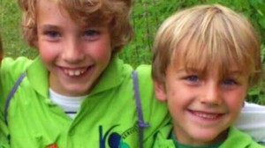 Brdrene Julian (7) og Ruben (9) bekreftet dde
