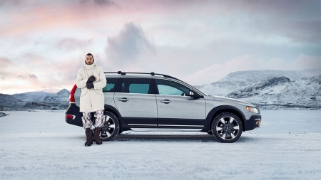 Volvo XC70 i Made by Sweden med Zlatan Ibrahimovic