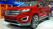 Ford Edge: Stor SUV for de som vil snobbe litt ned