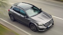 Pangstart for den nye Mercedes-SUV-en