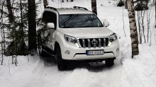 Test Toyota Landcruiser: