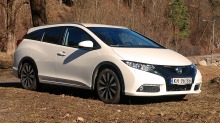TEST: Honda Civic tourer
